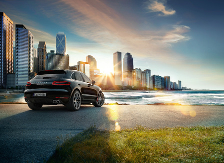 Macan Turbo with Performance Package.