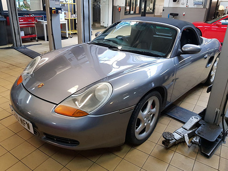 Our entry 986 Boxster